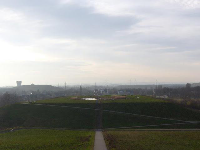Lippepark Hamm Haldenzeichen Schacht Franz Nord Ruhrgebiet Ausflug Hunderunde