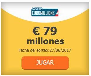 probabilidades euromillones jugar desde espala