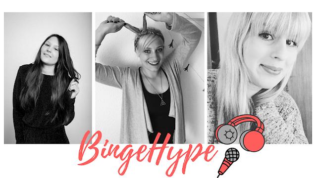 BingeHype Podcast, Serien Podcast, Serienjunkie, Filmblogger