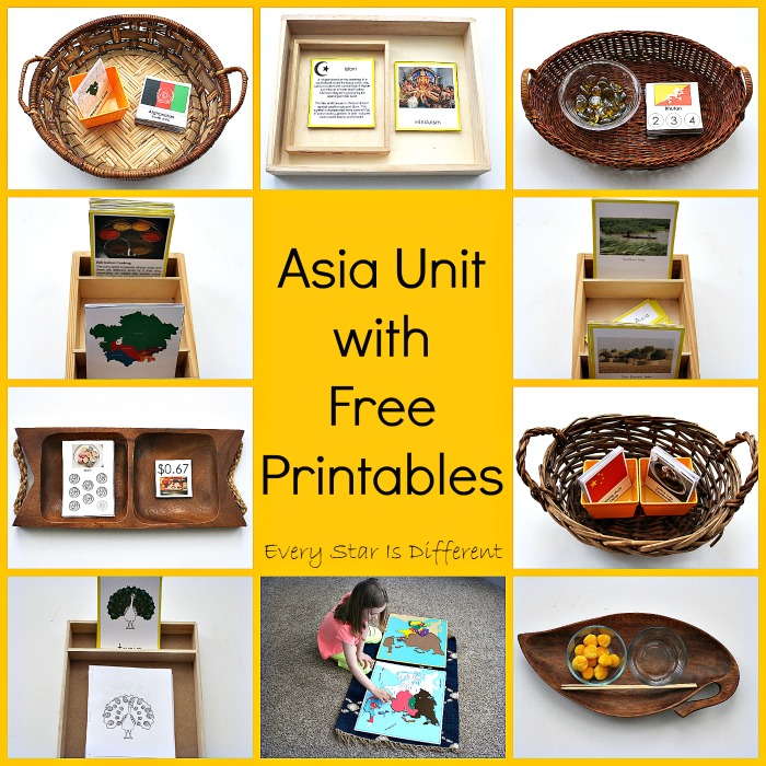 Asia Unit with Free Printables