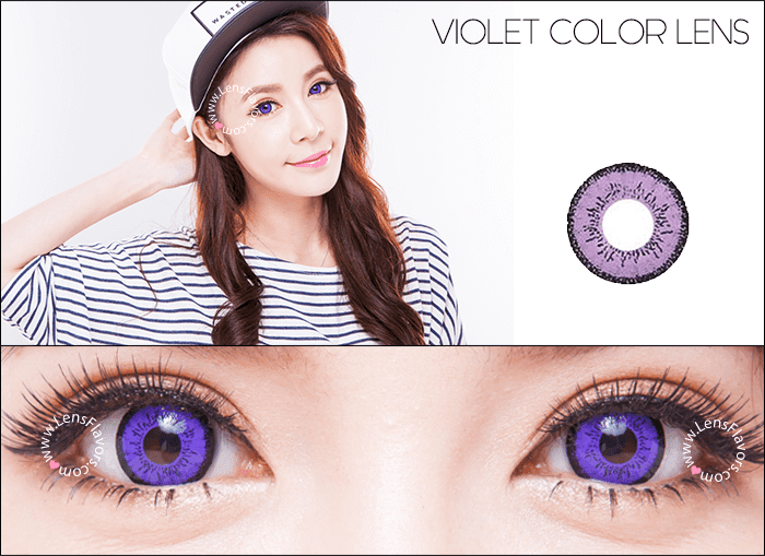 eos dolly eye violet circle lenses