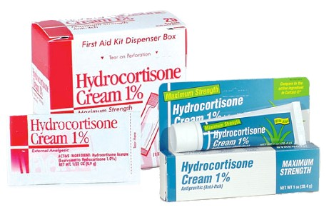 Hydrocortisone cream for the face
