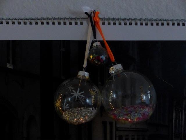Weihnachtsdeko Advent Deko DIY Weihnachtskugeln Weihnachtsschmuck