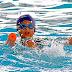 """Los pequeños """"Tritones"""" del CEAS dieron demostración de natación"""