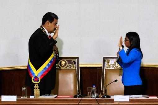 Presidente Maduro se juramenta ante Asamblea Nacional Constituyente de Venezuela