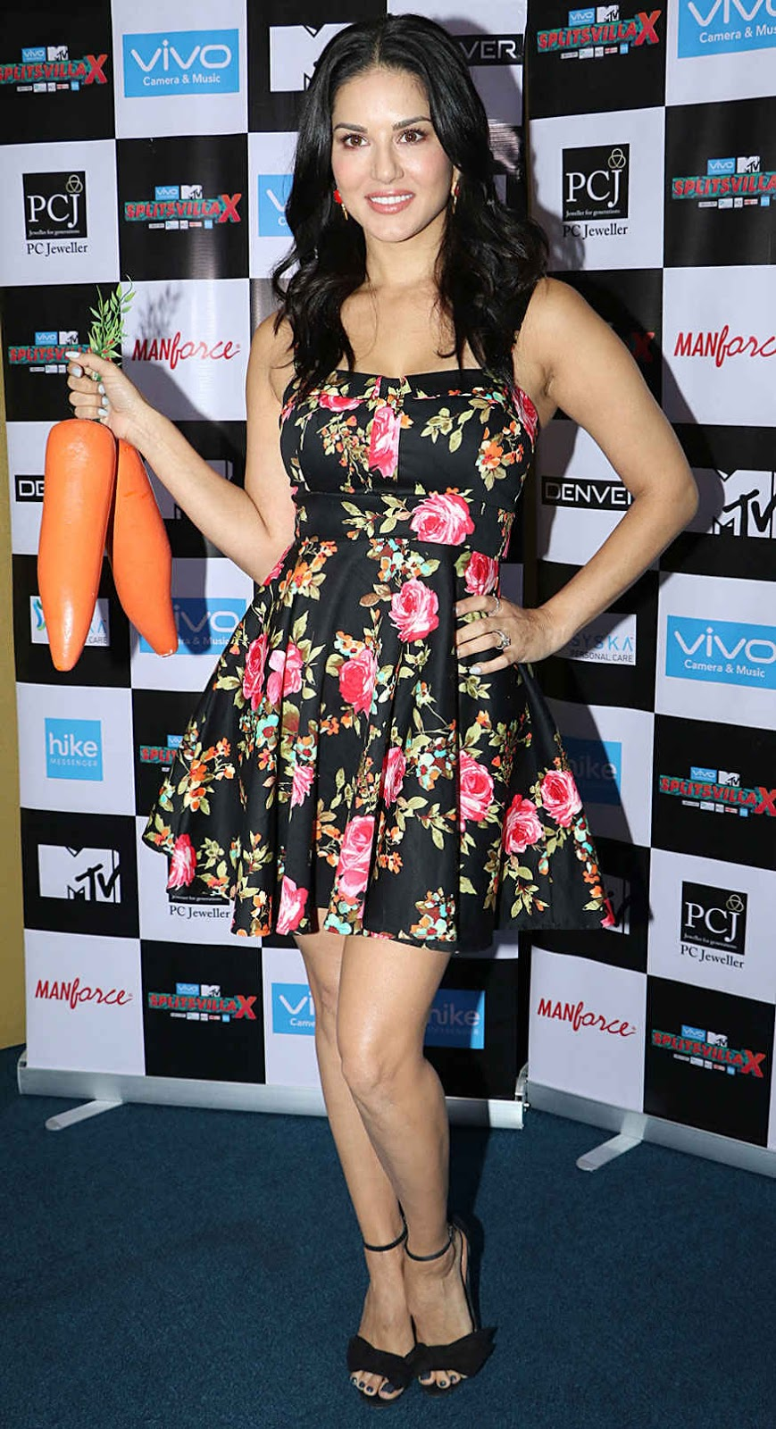 Sunny Leone at MTV Office In Andheri West Mumbai