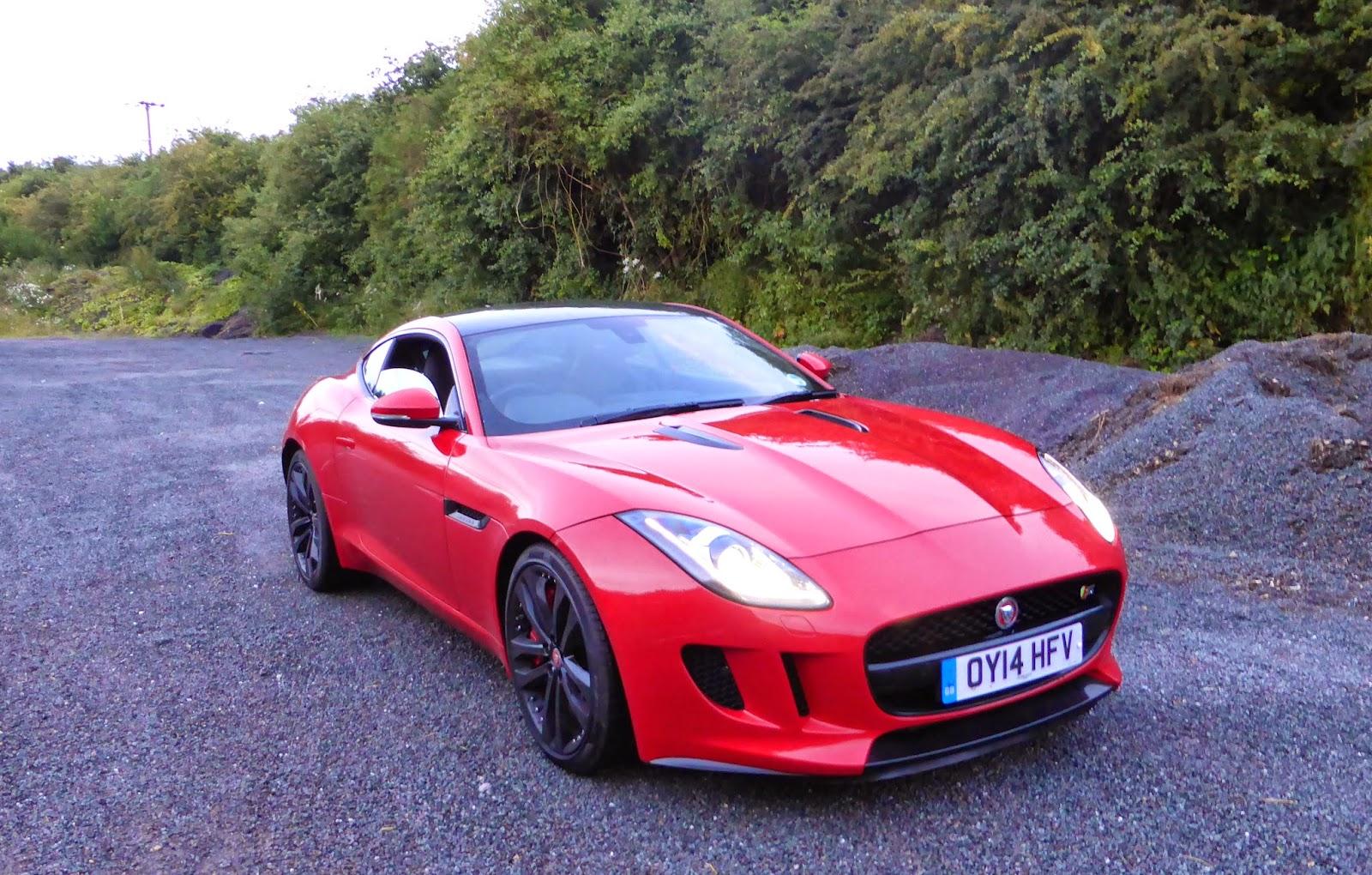 Speedmonkey: 2014 Jaguar F-Type Coupe V6 S Review