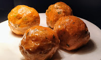 4 minced chicken coated egg for Scotch Eggs  recipe