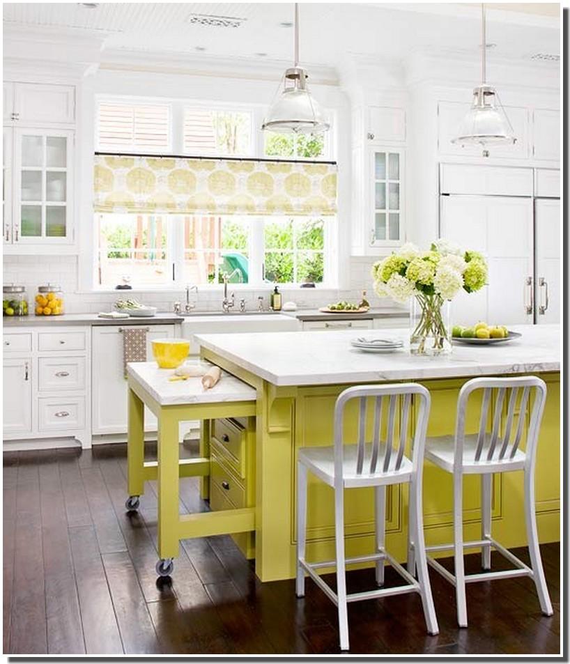 nassima home cuisine country jaune et blanche. Black Bedroom Furniture Sets. Home Design Ideas