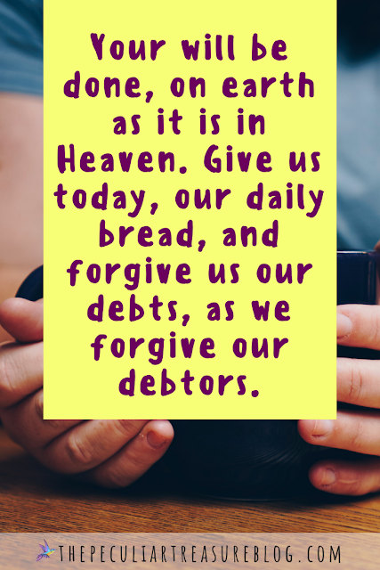 The Lord's Prayer. How to pray The Lord's Prayer. What does The Lord's Prayer mean? #Faith #Christianity #Prayer #Bible #Scripture #quote