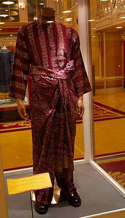 Official Attire of Crown Prince of Kedah