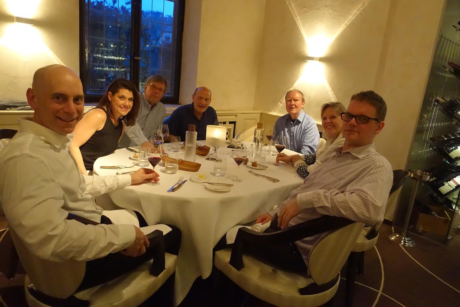 Schiller Wine Promenade Au Fleckenstein Dinner At L