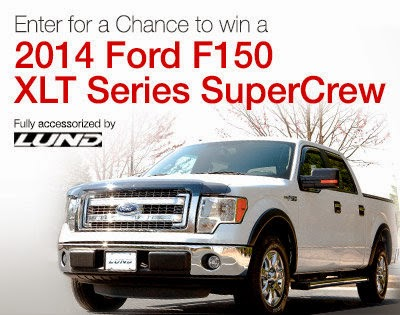 Ford F150 Giveaway from Amazon Automotive, ends 5/31.