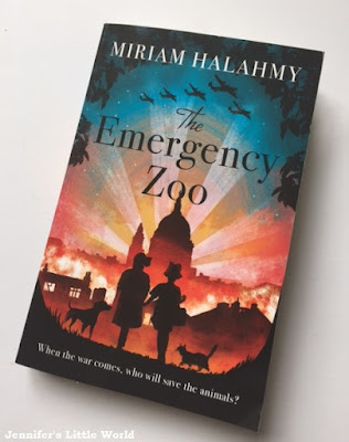 Book review - The Emergency Zoo by Miriam Halahmy