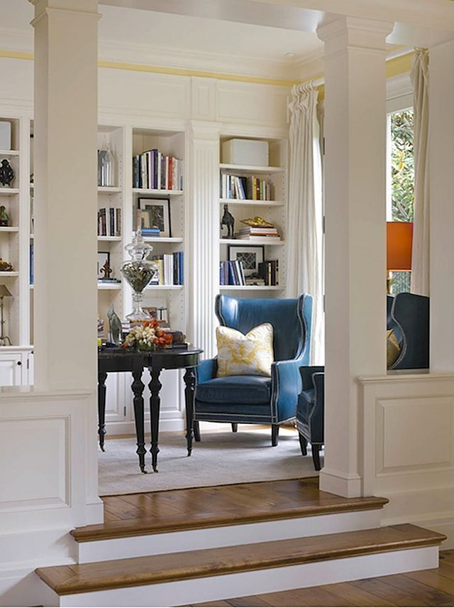 These Lovely Wingback Chairs From Horchow Reflect A More Modern Silhouette
