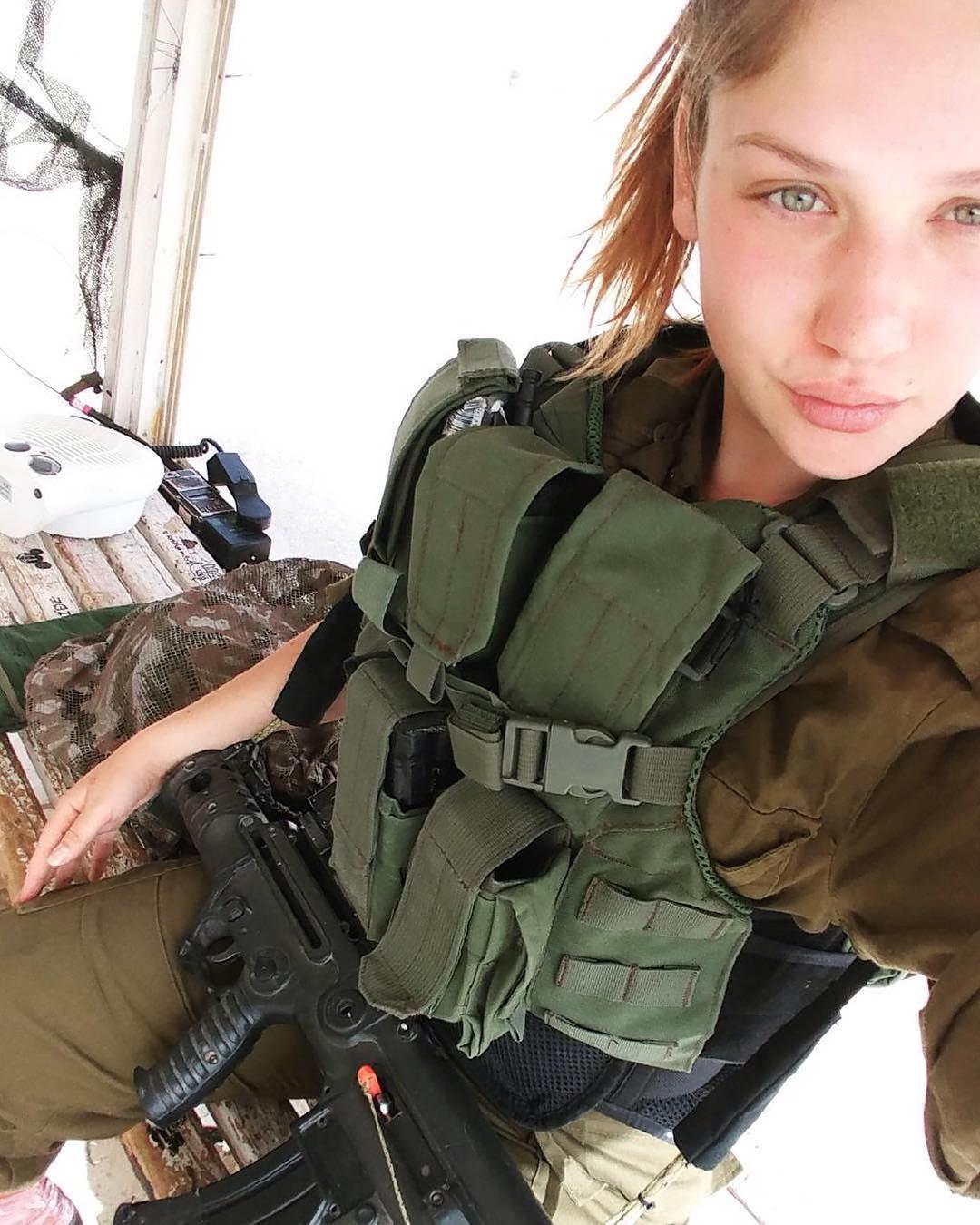 Amazing Wtf Facts Beautiful Women In Israel Defense Forces - Idf Army Girls - Israel -5878