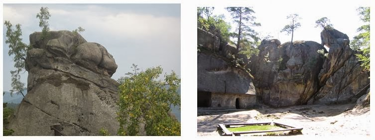 Скалы Довбуша, Бубнище, Карпаты