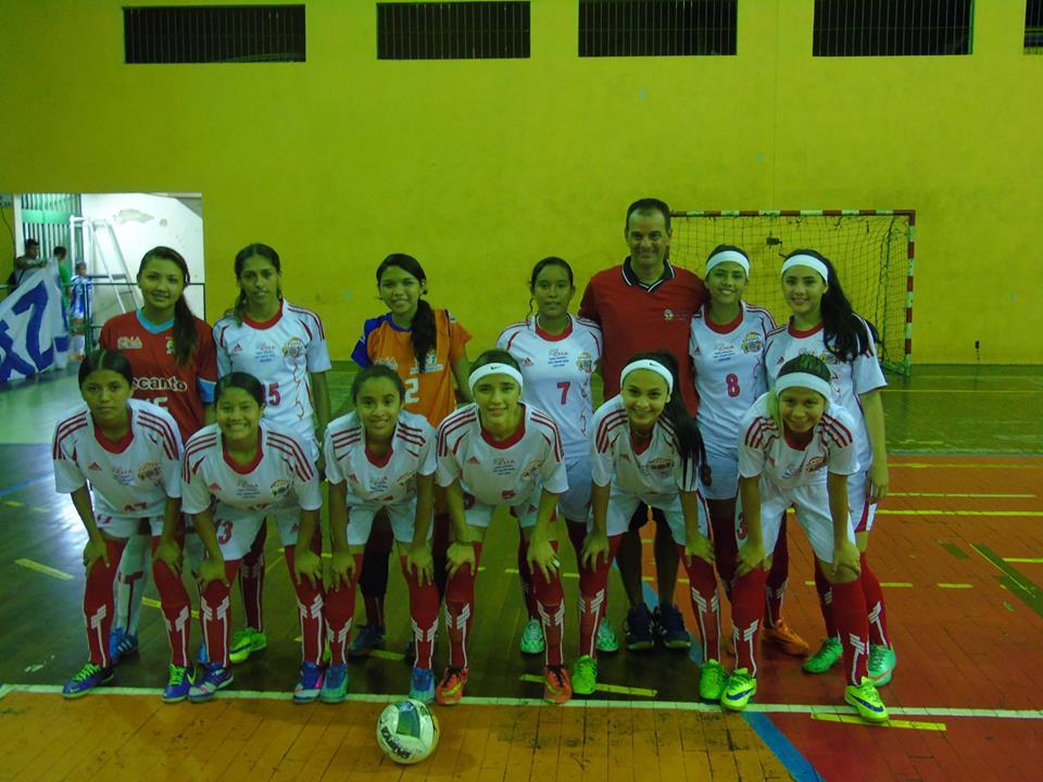 Manaus AM - Em partida válida pela 5ª rodada do Campeonato Amazonense de Futsal  Sub-20 Feminino 47b56a4b3bc5d