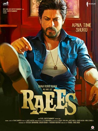 Raees 2017 Hindi Movie Free Download 720p BluRay