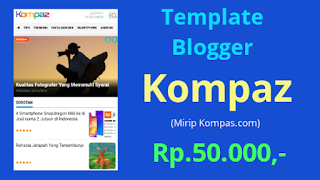 Template Blogger Kompaz