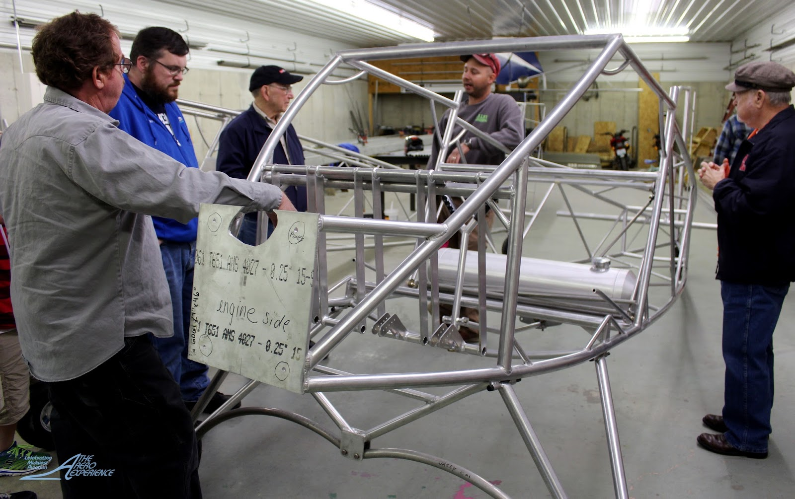 Attractive Backyard Flyer Part - 14: We Feature Some Views Of The Aircraft Under Construction, And Of Some  Photos Of Gene Smith Flying The Back Yard Flyer At The Midwest LSA Expo At  Mount ...