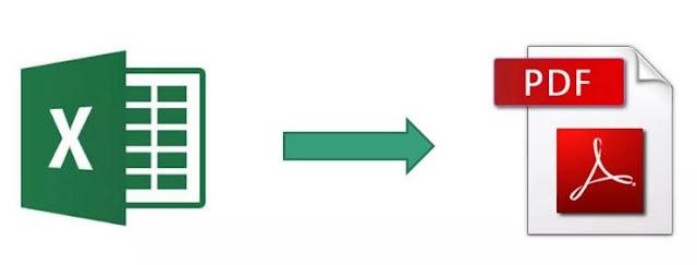 Cara Merubah File Microsoft Excel Ke File PDF Dengan Cepat Dan Mudah