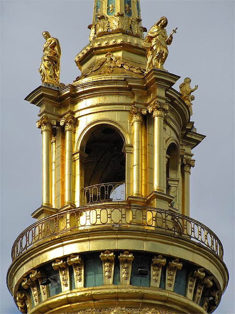 Lantern of the dome, Saint-Louis des Invalides, Paris