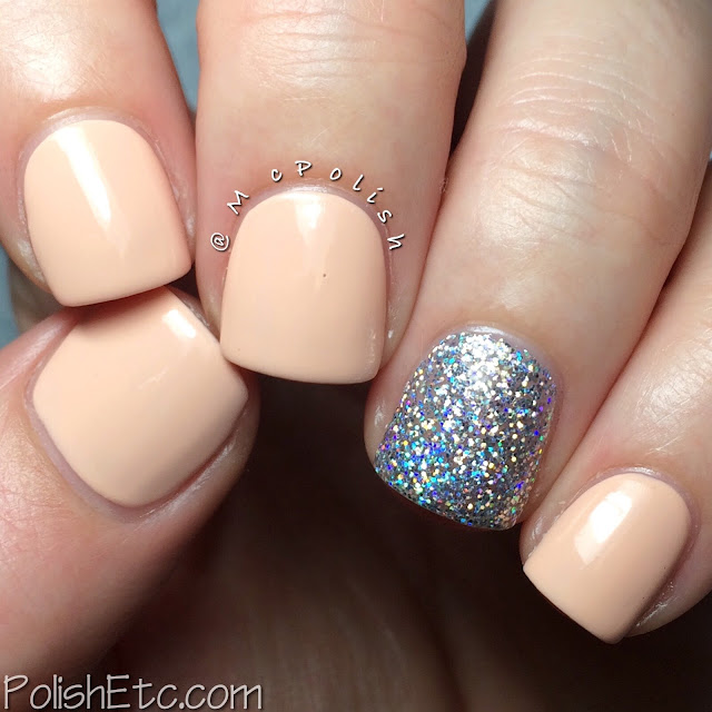 Serendipity Nail Polish - Coastal Christmas Collection - McPolish - Peace, Love & Sandy Feet and Holo-Day Lights