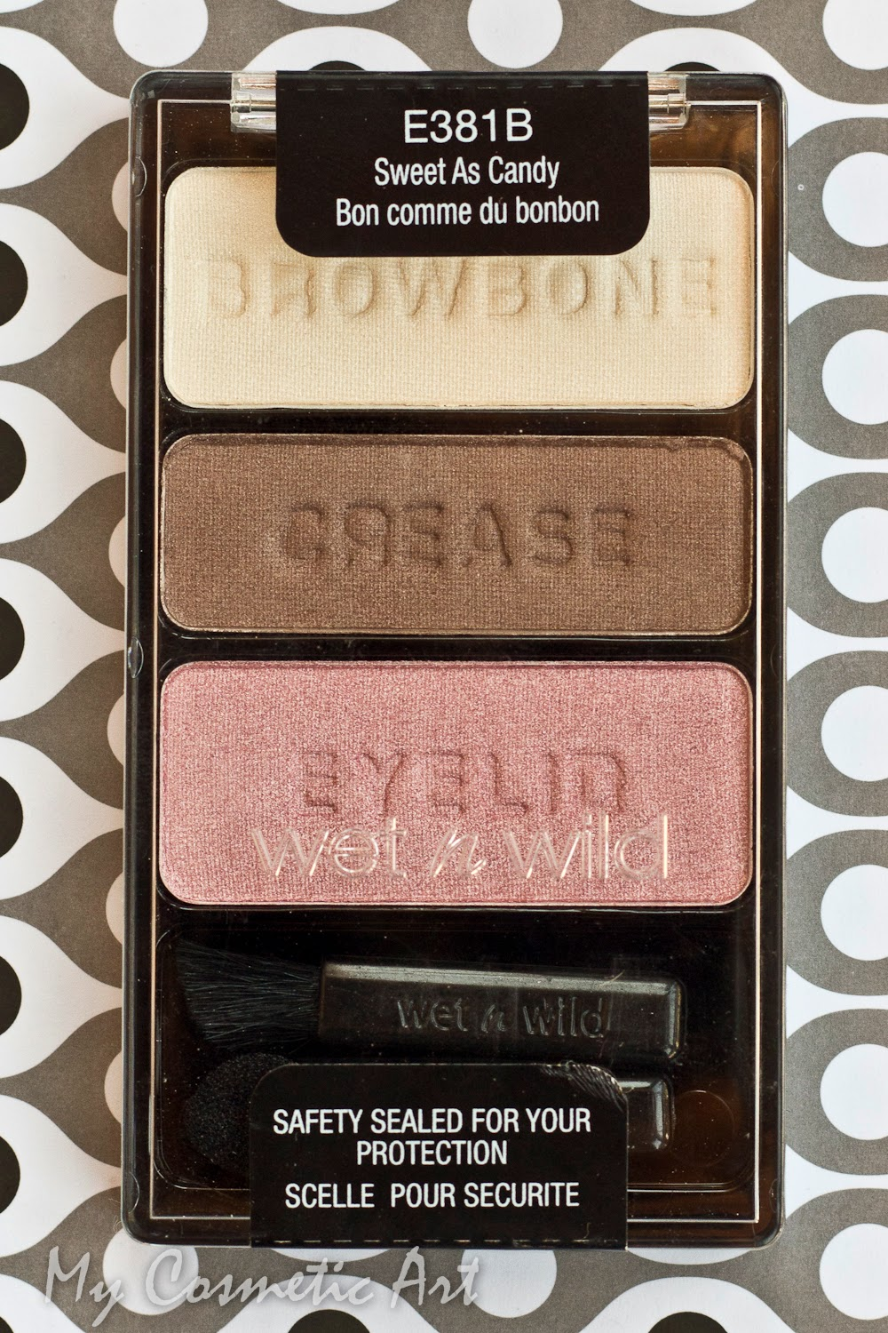 Sweet as Candy, uno de los tríos de sombras de Wet'n'Wild