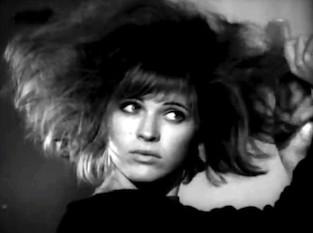 Pauline Boty Doing her Hair, Pop Goes the Easel