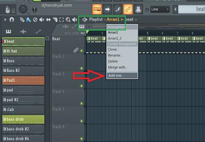 Fl studio 20 : Cara menambah playlist baru dalam 1 project