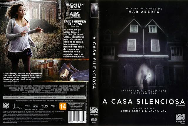 Capa DVD A Casa Silenciosa