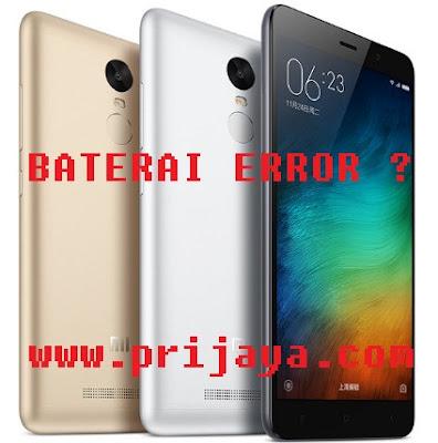 Cara Mengatasi Baterai 2% ( Minus 2 Persen ) Xiaomi Note 3 Pro