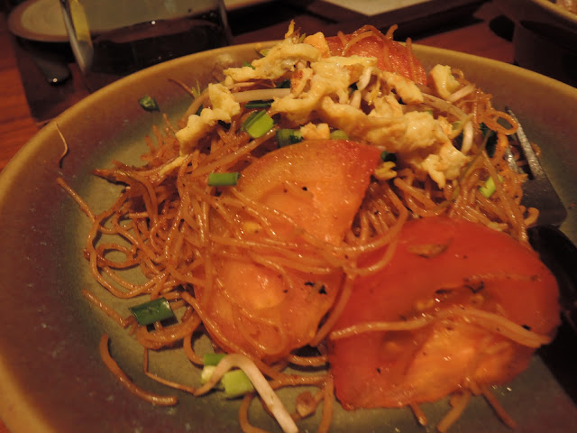 noodles, trou aux biches, beachcomber, blue ginger, thai cuisine