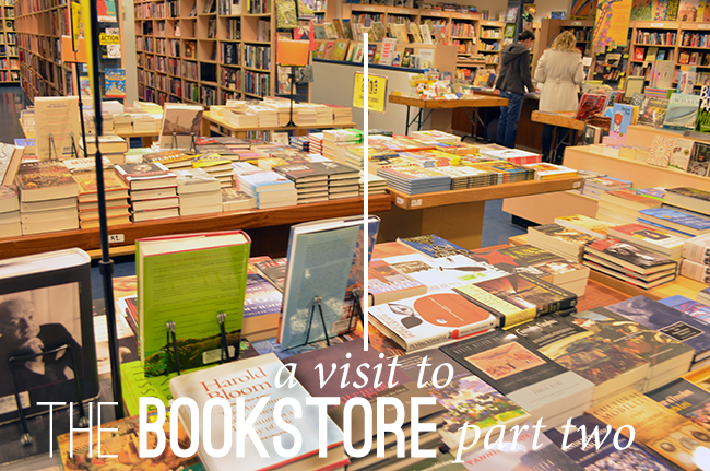 A Visit to the Bookstore Part Two