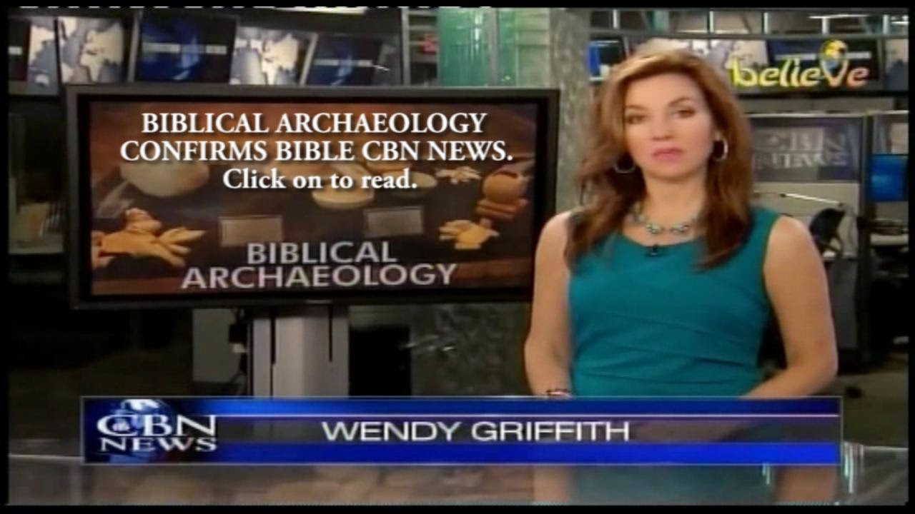 BIBLICAL ARCHAEOLOGY CONFIRMS BIBLE CBN NEWS.