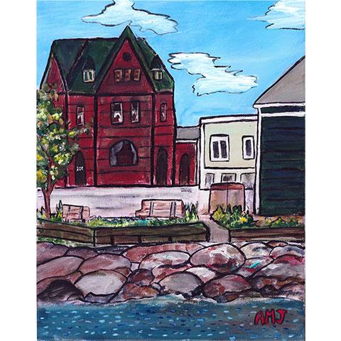 George street, Annapolis Royal- Original painting