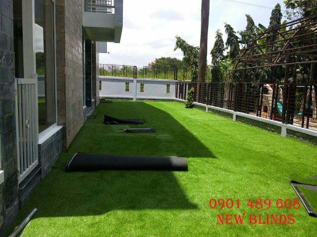 cỏ nhân tạo cho gia đình