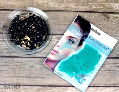 beautyface Mascarilla de colágeno, té verde y vitaminas