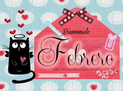 mes del amor y la amistad bienvenido febrero