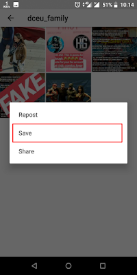 Sobat klik story teman Sobat kemudian klik Save.