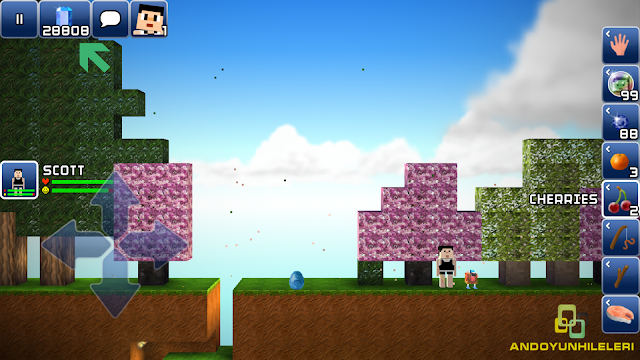 The Blockheads v1.7.4 Kristal Hileli