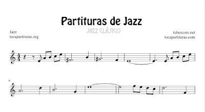 26 Partituras de Jazz Listado de Canciones