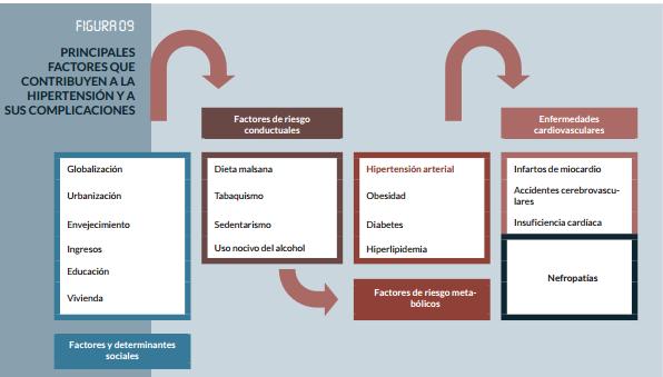 factores de riesgo para la salud de la hipertensión