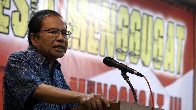 Rizal Ramli: Jokowi Dikelilingi Islamophobia