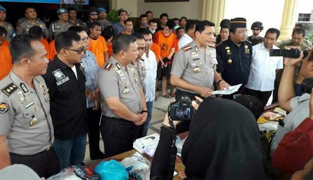 Polisi Gagalkan Penyelundupan Narkoba dari Batam