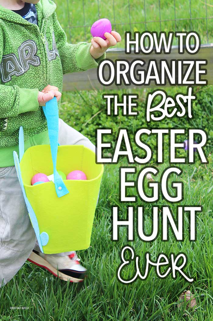 How to Organize the Best Easter Egg Hunt Ever | Sunny Day ...