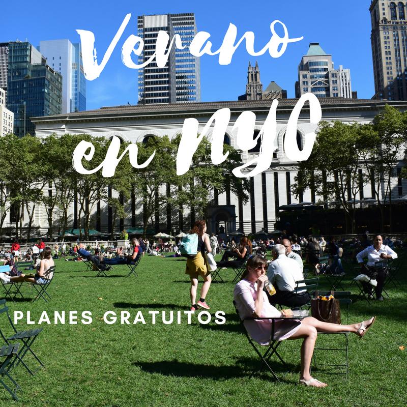 Planes gratuitos para disfrutar el verano en Nueva York (2018) - El ...