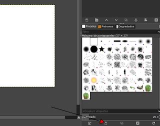 Crear un pincel con forma de estrella en Gimp