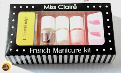 Miss Claire French Manicure Kit